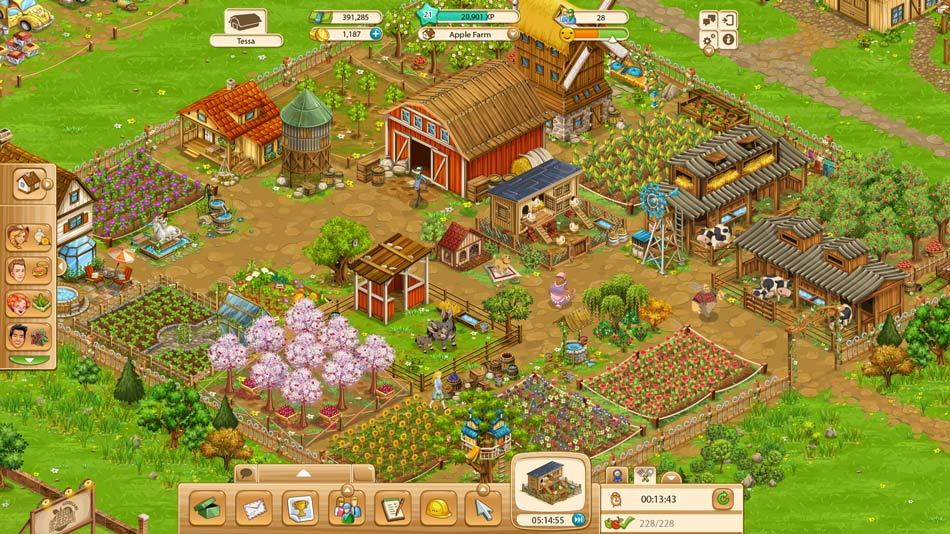 Goodgame Big Farm - Close up